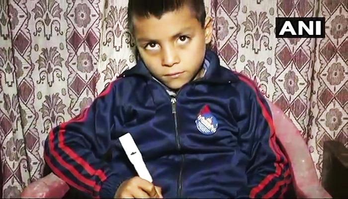 'কাউন্টিং পেন', আশ্চর্য আবিষ্কার করে তাক লাগাল কাশ্মীরি বালক