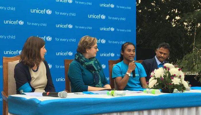 UNICEF-এর প্রথম 'যুব দূত' হলেন হিমা দাস