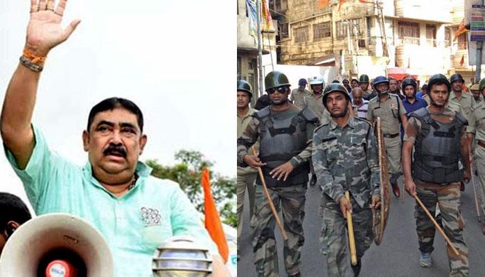 'কেন্দ্রীয় বাহিনী ভুল করলে দেখে নেবেন, ছাড়বেন না', নিদান অনুব্রতর