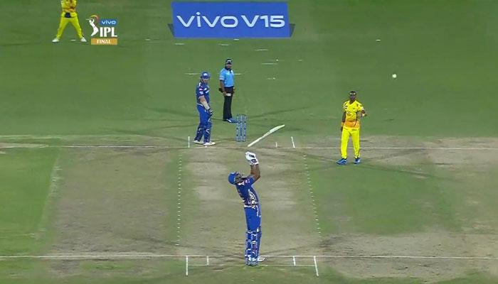 IPL 2019 : ফাইনালে বিতর্কে জড়িয়ে শাস্তি পেলেন বার্থডে বয় পোলার্ড!
