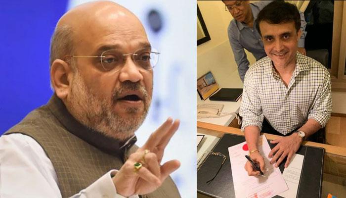 BJP-র হয়ে প্রচারের শর্তে BCCI সভাপতি সৌরভ? কোনও শর্ত নয়, বিজেপিতে যোগ দিতে চাইলে সৌরভকে স্বাগত: অমিত শাহ