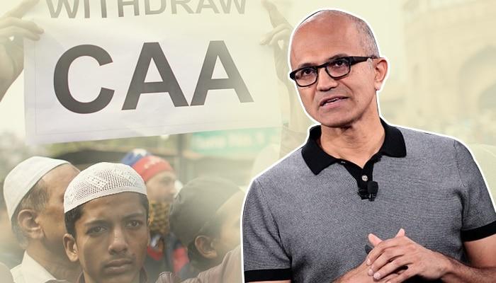 ইনফোসিসের পরবর্তী CEO  বাংলাদেশি শরণার্থীকে দেখতে চাই, CAA নিয়ে মন্তব্য Microsoft কর্তা নাদেলার