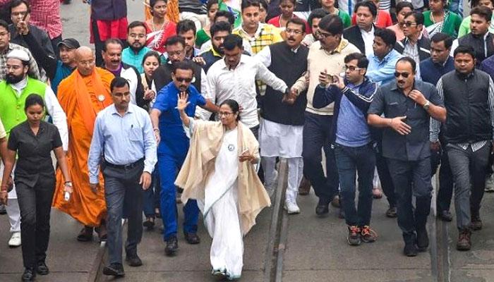 সিএএ-এনআরসি বিরোধী আন্দোলন ছড়িয়ে দিতে সোমবার থেকে উত্তরবঙ্গে মমতা