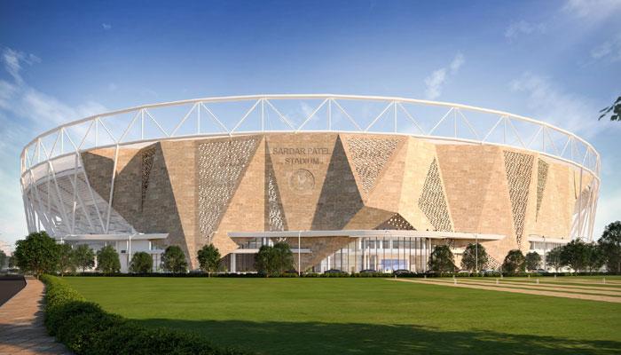 বিশ্বের সবচেয়ে বড় ক্রিকেট স্টেডিয়ামের ছবি পোস্ট করল BCCI,নিমেষে ভাইরাল ছবি