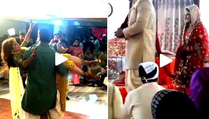 শ্রাবন্তীকে কোলে নিয়ে নাচছেন, বিয়ের ভিডিয়ো পোস্ট রোশনের