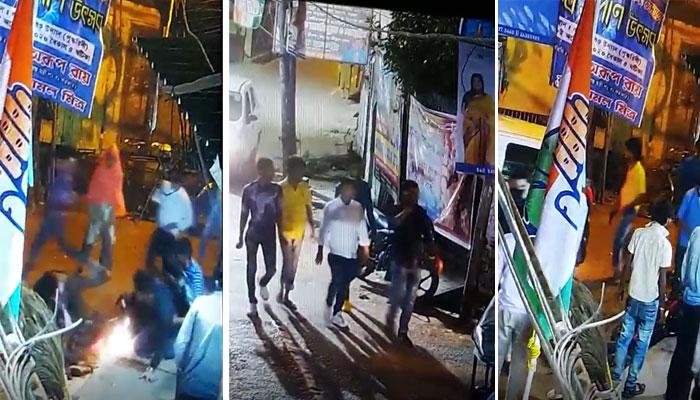 প্রকাশ্যে শ্যুটআউট শিবপুরে, জি ২৪ ঘণ্টার কাছে হাড়হিম করা CCTV ফুটেজ