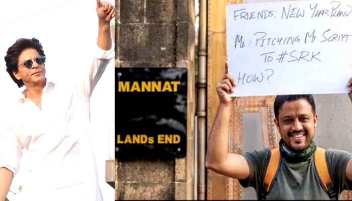 'Shah Rukh-সই না করা পর্যন্ত সরছি না', 'মন্নত' নিয়ে মন্নতের সামনে ঠায় দাঁড়িয়ে জয়ন্ত