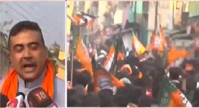 Live: কলকাতা-দিল্লিতে একই দলের সরকার হবে, বেকারদের কর্মসংস্থান হবে : Suvendu