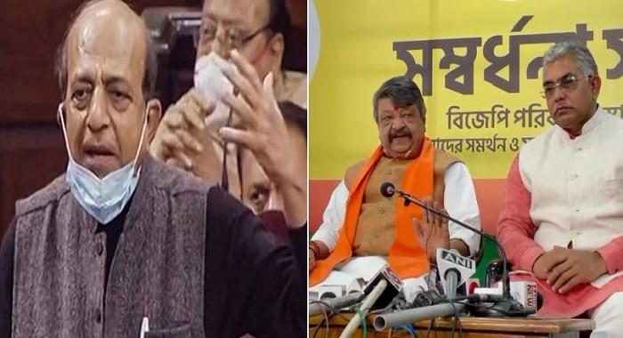 Dinesh Trivedi আমার দাদার মত: অর্জুন, আত্মসম্মান সম্পন্ন কেউ TMC-তে থাকতে পারবে না: কৈলাস