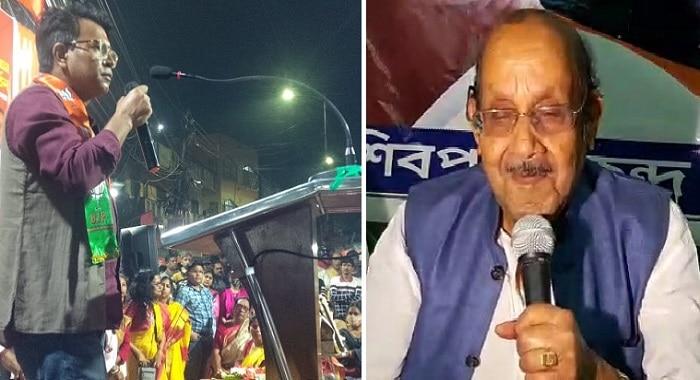 শিবপুর কেন্দ্রে তুঙ্গে Rudranil Ghosh বনাম Jatu Lahiri কাজিয়া