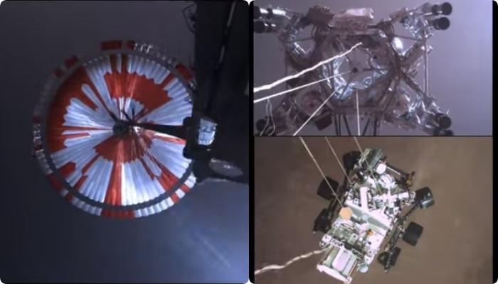 মঙ্গলে মহাকাশযান ল্যান্ডিংয়ের সবচেয়ে ভয়ঙ্কর পর্বের Video শেয়ার করল NASA