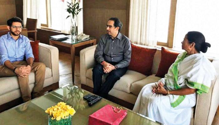 'বাংলার আসল বাঘিনী Mamata-ই', TMC-কে সমর্থন দিয়ে বলল Shiv Sena