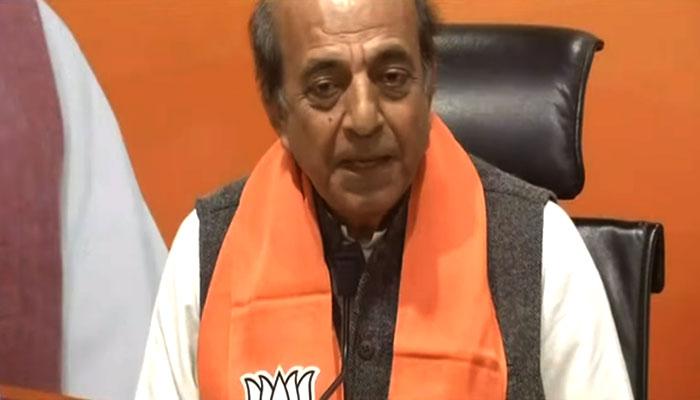 WB Assembly Election 2021: Naddaর হাত ধরে BJP-তে যোগ দিলেন Dinesh Trivedi