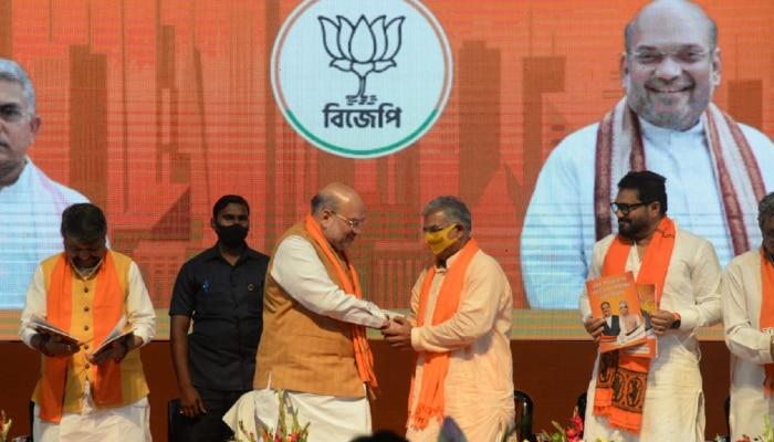 BJP Manifesto: ২০০ ইউনিট পর্যন্ত নিঃশুল্ক বিদ্যুৎ, ফিউচার সিটি কলকাতা, সংকল্প  BJP-র