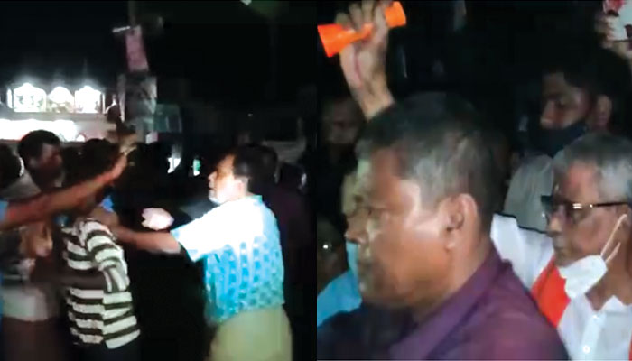 WB Assembly Election 2021: কাঁথিতে প্রথমবার প্রচারে নেমেই প্রবল বিক্ষোভের মুখে শিশির, TMC-BJP খণ্ডযুদ্ধে তুলকালাম সভাস্থল