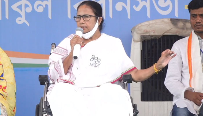 WB Assembly Election 2021 LIVE: দিল্লির পুলিস গিয়ে বয়ালে ছাপ্পা মেরেছে: মমতা