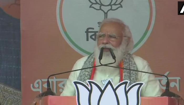 West Bengal Election 2021: কোচবিহারের ঘটনা দিদির ছাপ্পা ভোটের মাস্টার প্ল্যানের অংশ : Modi