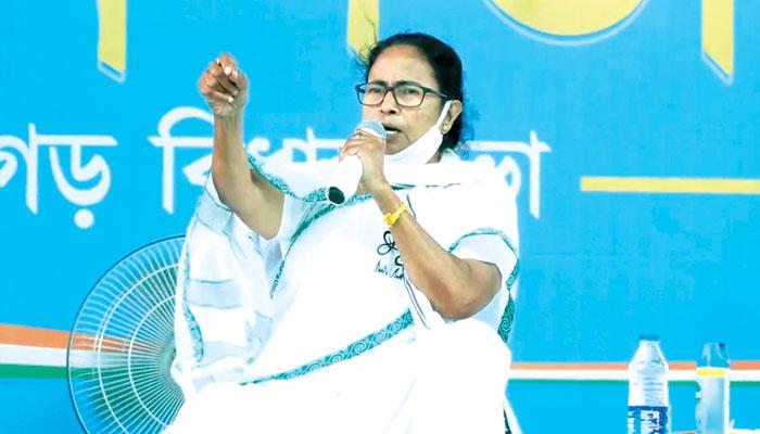WB Assembly Election 2021:বাইরে থেকে বিস্তর লোক এনে ভোট প্রচার, রাজ্যে করোনা ছড়িয়েছে BJP: Mamata