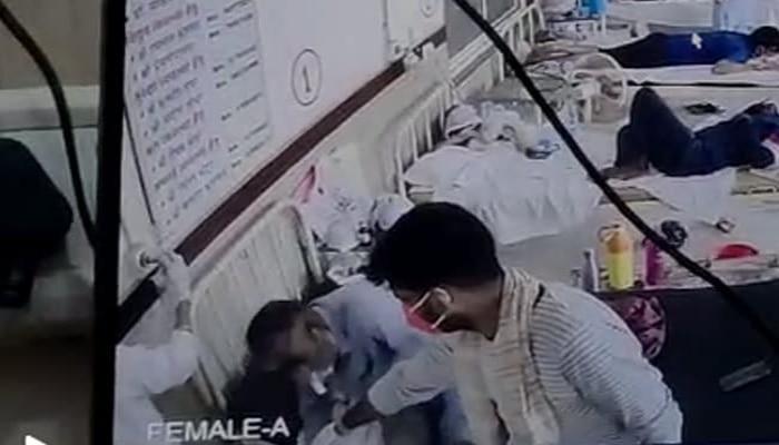 অক্সিজেন খুলে দিল হাসপাতালের কর্মী, মৃত্যু যন্ত্রণায় কাতরাচ্ছে রোগী, মর্মান্তিক ঘটনা ধরা পড়ল CCTV-তে