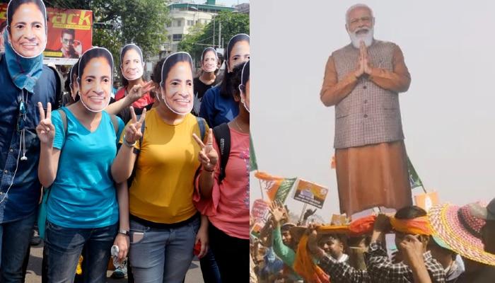 West Bengal Election 2021: দফা কমল না, সন্ধে থেকে সকাল পর্যন্ত প্রচার বন্ধ করল Election Commission