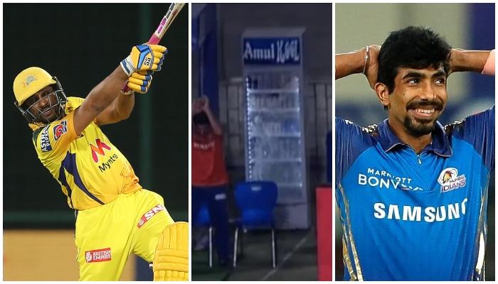 IPL 2021: Bumrah র বলে ছক্কা হাঁকিয়ে ফ্রিজ ভাঙলেন Rayudu! রইল ভিডিয়ো