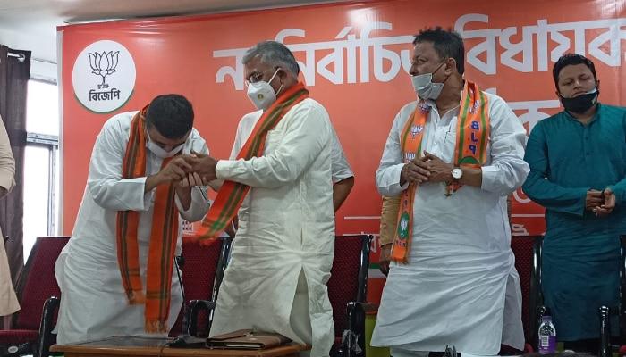 রাজ্যের বিরোধী দলনেতা Suvendu Adhikari, শিশিরপুত্রকে সমর্থন ২২ BJP বিধায়কের