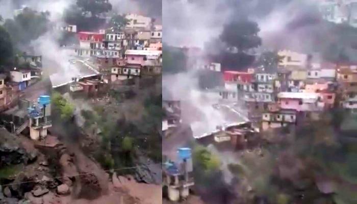 ভয়াবহ বিপর্যয় Uttarakhand এ , মেঘ ভাঙা বৃষ্টিতে ভেসে গেল ঘরবাড়ি-দোকানপাট