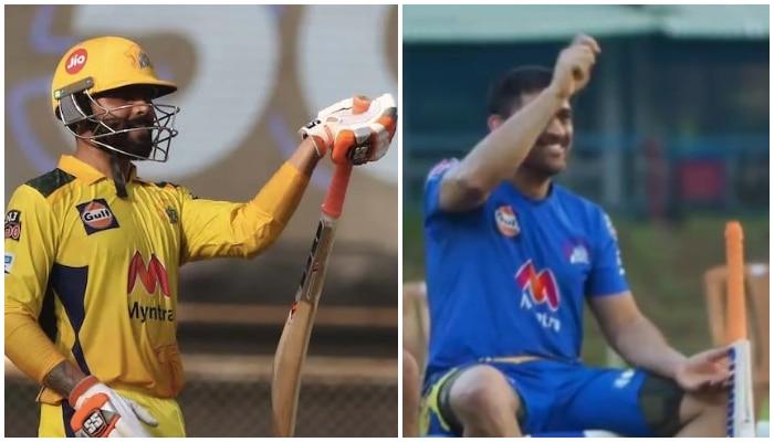 IPL 2021: Dhoni নকল করলেন সতীর্থের সেলিব্রেশন স্টাইল! উত্তরে কী বললেন Jadeja