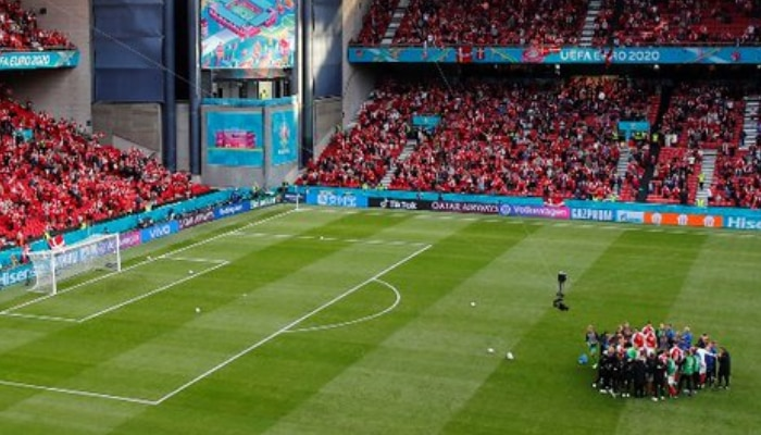 UEFA EURO 2020: ফের শুরু Denmark vs Finland ম্যাচ, Christian Eriksen এর দ্রুত আরোগ্য কামনায় উয়েফা