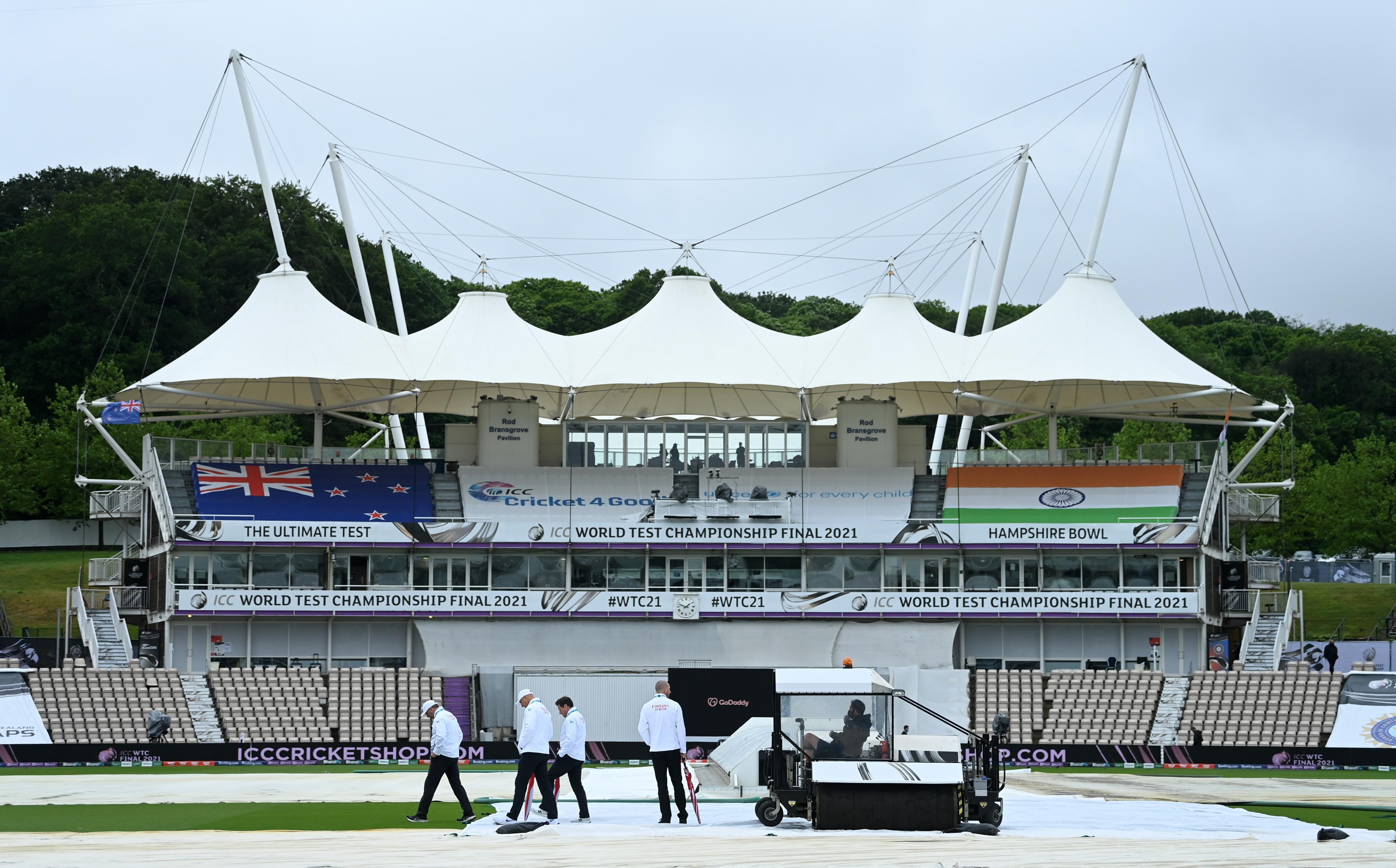 IND VS NZ WTC21 Final: প্রথম দিনের খেলা বৃষ্টিতে ভেস্তে গেল