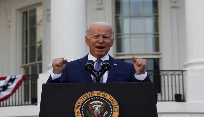 করোনা থেকে 'মুক্ত' America, স্বাধীনতা দিবসে Biden-র ঘোষণা ঘিরে বিতর্ক