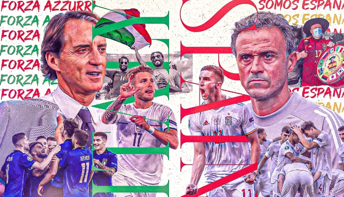 UEFA EURO 2020: রাত পোহালেই মেগা ম্যাচে মুখোমুখি Italy vs Spain, জানুন বিস্তারিত