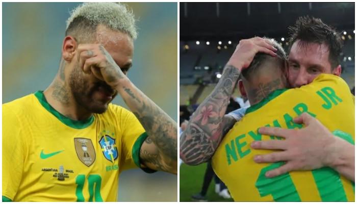 Copa America 2021: অঝোরে কাঁদছেন Neymar, বুকে জড়িয়ে নিলেন Messi! চোখ ভিজিয়ে দেবে ভিডিয়ো