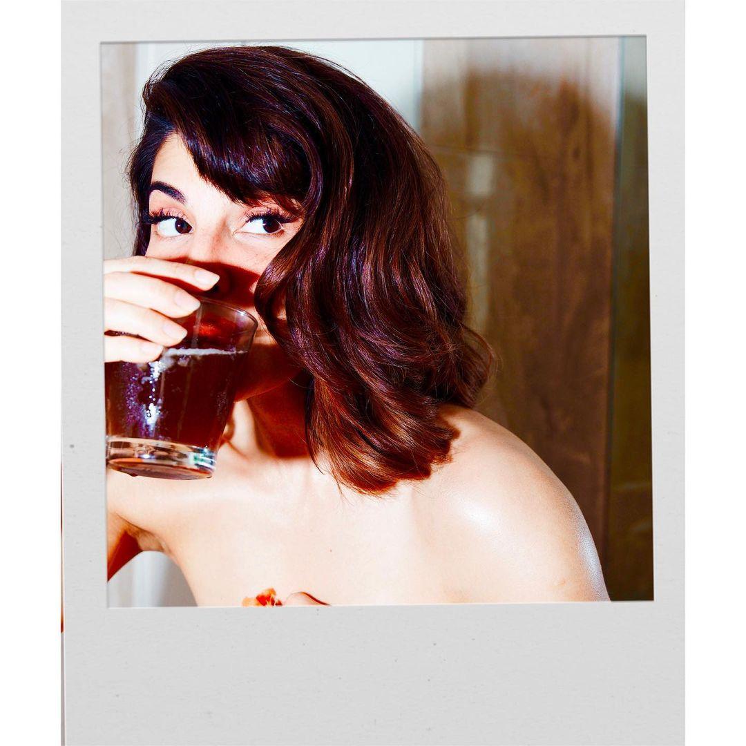 Jacqueline with Wine