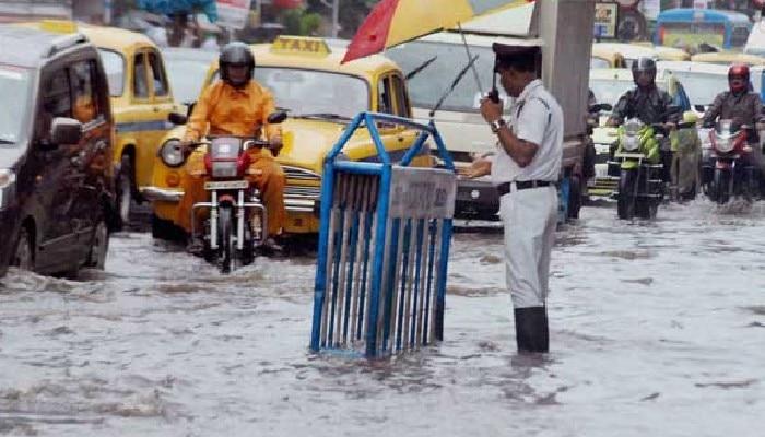 water log kolkata: কলকাতা জলমগ্ন