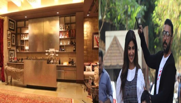 Shilpa Shetty. Raj Kundra: Party place