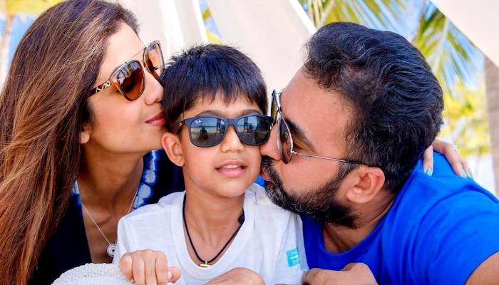 Shilpa Shetty: Happy family