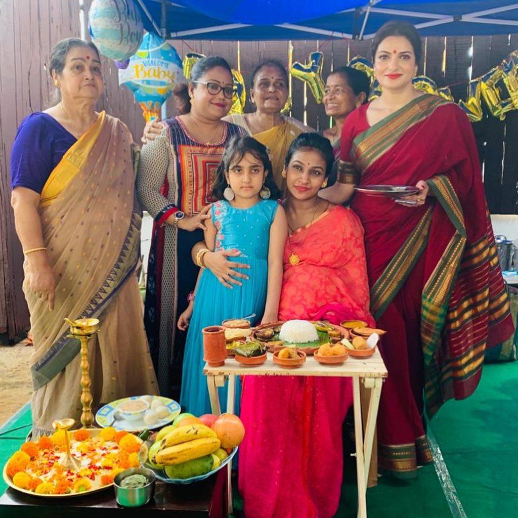Baby Shower of Tanusree Chakraborty's Sister