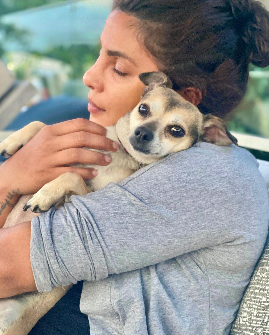 Priyanka Chopra with little Diana