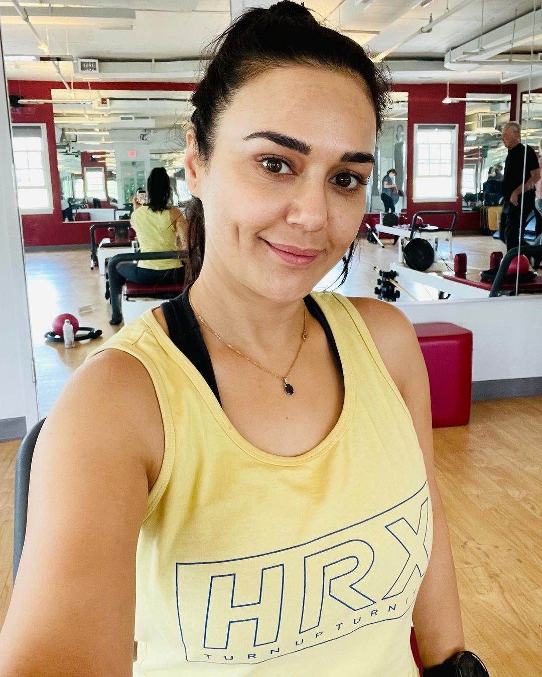 Preity Zinta in 46, look like 20