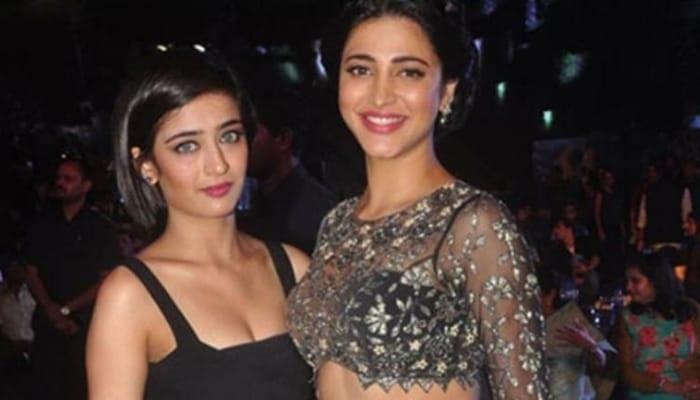 Akshara Shruti Haasan:Sisters