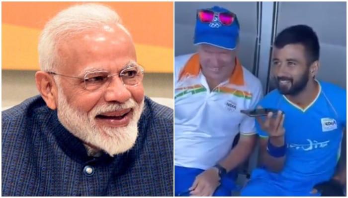 দেখুন ভিডিয়ো: 'গোটা দেশ আজ নাচছে!' Manpreet কে ফোনে বললেন Modi