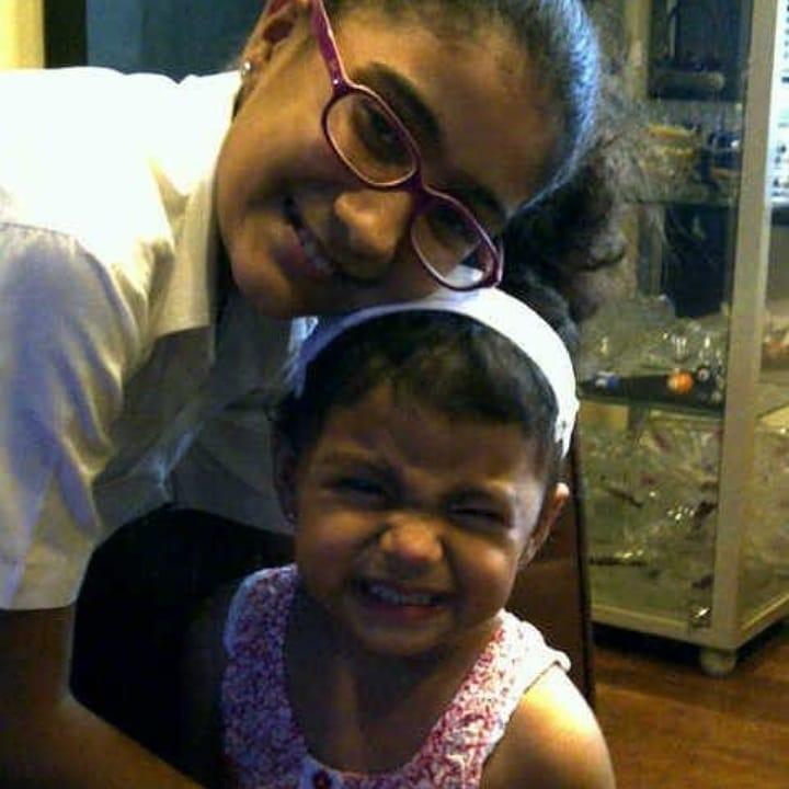 Renee Sen wish for sister Alisah