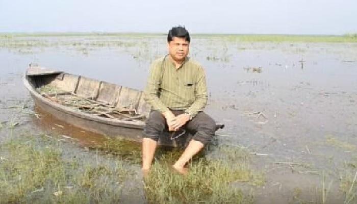 Wildlife Conservationist Dr Samir Kumar Sinha
