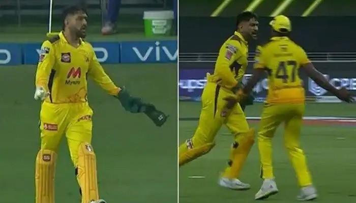 IPL 2021, MI vs CSK: মেজাজ হারান ধোনিও! 'ক্যাপ্টেন কুল' যখন রেগে 'হট', রইল ভিডিয়ো