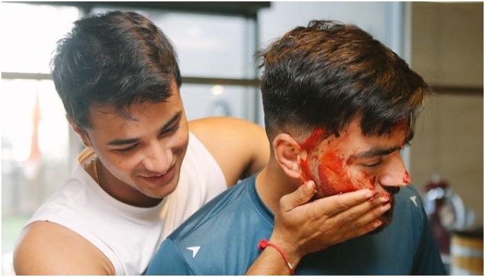 Rashid Khan cake facial