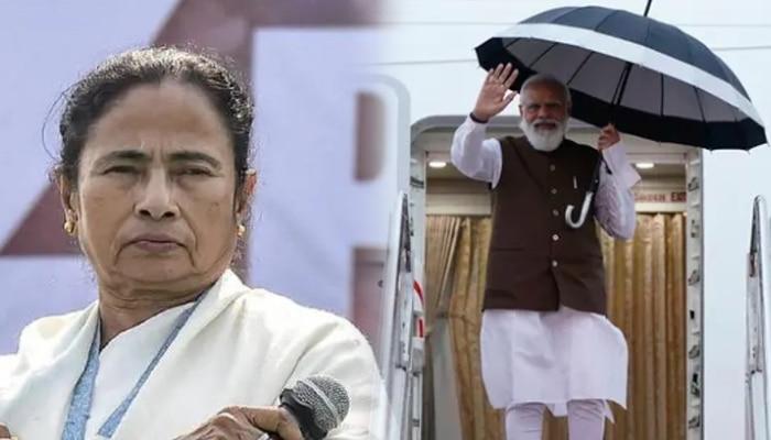 Mamata: প্রধানমন্ত্রী বিদেশ চলে গেলেন, হিংসে করে হিন্দু মহিলাকে রোমে যেতে দিলেন না