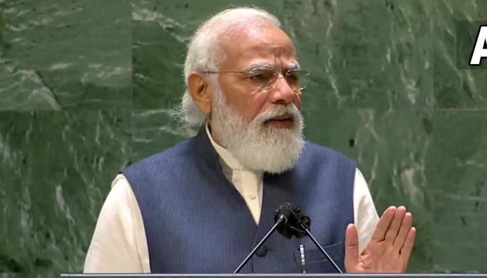UNGA: ভাষণে Modi-র রবি-স্মরণ, বাংলায় কবিতা পাঠ করে রাষ্ট্রসঙ্ঘকে বার্তা প্রধানমন্ত্রীর