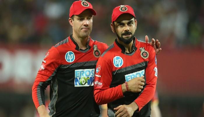 IPL 2021: জয়ের আনন্দে Virat Kohli-কে নকল করে কী বললেন AB de Villiers?