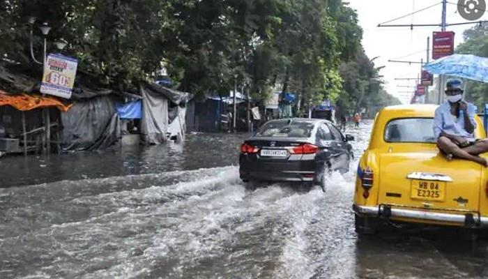 Weather Update:  দিনভর বৃষ্টি দক্ষিণবঙ্গে, কলকাতায় ঝোড়া হাওয়া;  বুধবারও দুর্যোগের আশঙ্কা